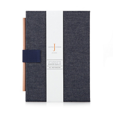 J by Jasper Conran - Designer denim A5 notebook