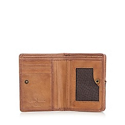 J by Jasper Conran - Designer brown leather billfold wallet
