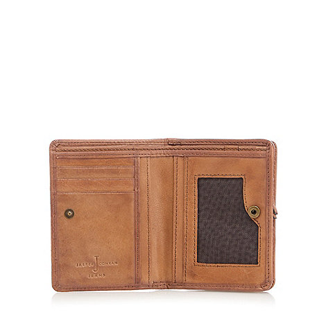J by Jasper Conran - Designer brown leather billfold wallet