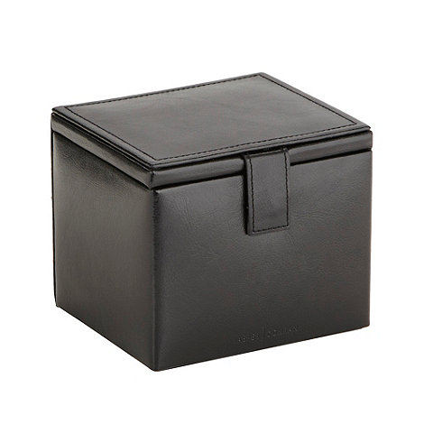 J by Jasper Conran - Designer black watch and cufflink box in gift box