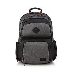 Animal - Grey woven backpack