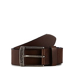 Levi's - Dark brown leather belt