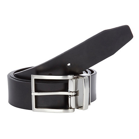Jeff Banks - Designer black  branded reversible belt