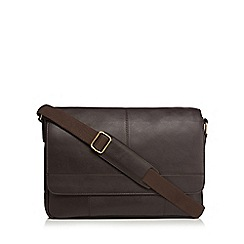 The Eighth - Brown 'Thomas' leather satchel