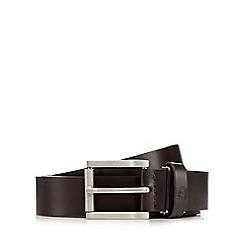 Jeff Banks - Designer brown leather belt in a box