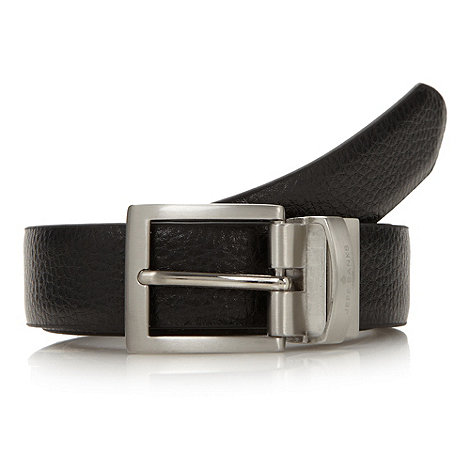 Jeff Banks - Designer black and brown reversible belt