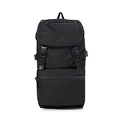 Red Herring - Black 'Urban Trek' backpack