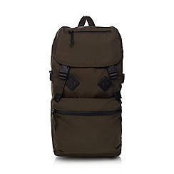 Red Herring - Khaki 'Urban Trek' backpack