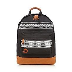 Mi-Pac - Black nordic print backpack