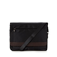 Jeff Banks - Designer black messenger bag