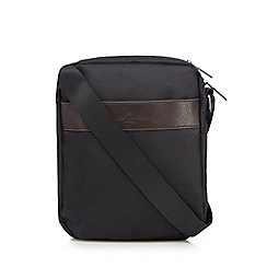 Jeff Banks - Designer black textured mini bag