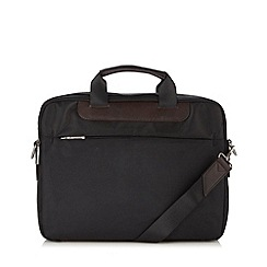 Jeff Banks - Designer black padded laptop bag