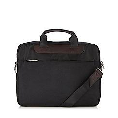 Jeff Banks - Designer black padded laptop bag