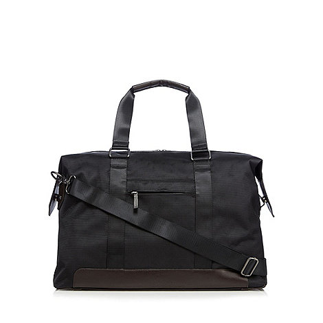 Jeff Banks - Designer black holdall bag