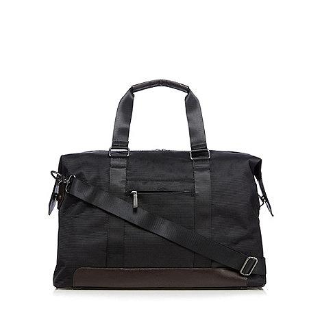 Jeff Banks - Designer black holdall bag