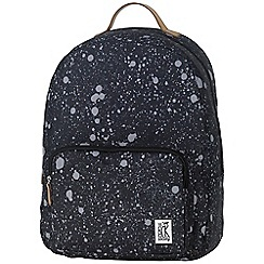 The Pack Society - Black printed 'Classic' backpack