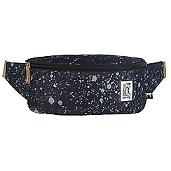 The Pack Society - Black printed bumbag