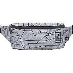 The Pack Society - Grey printed bumbag