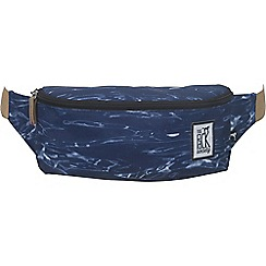 The Pack Society - Blue printed bumbag