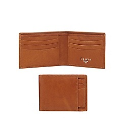 Dents - Tan leather radio-frequency identification wallet