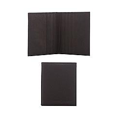 J by Jasper Conran - Black leather card holder