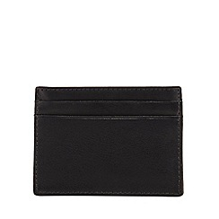 The Collection - Black leather card holder with data protection lining