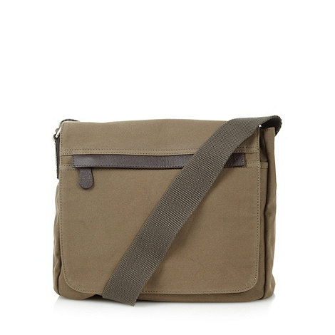 RJR.John Rocha - Designer khaki cross body bag