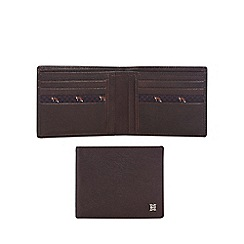 Hammond & Co. by Patrick Grant - Brown leather wallet with data protection