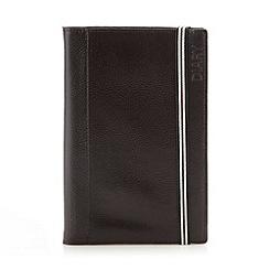 RJR.John Rocha - Designer dark brown leather bound diary