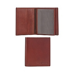 J by Jasper Conran - Tan leather credit card holder