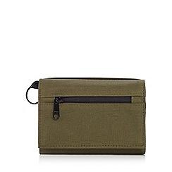 Mantaray - Khaki textured rip stop wallet