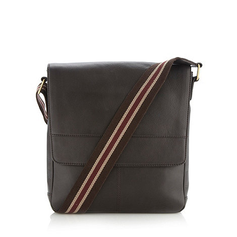 RJR.John Rocha - Designer dark brown leather utility bag