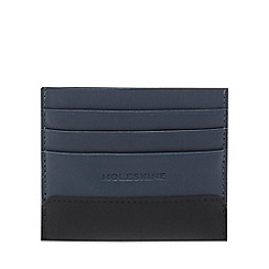 Moleskine - Navy leather card holder