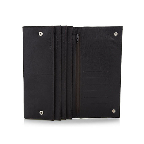 RJR.John Rocha - Designer dark brown leather travel wallet