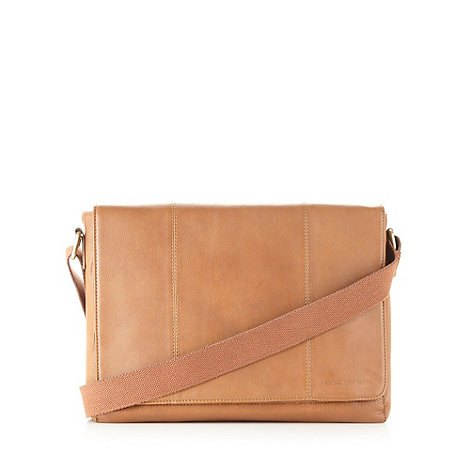 RJR.John Rocha - Designer tan leather satchel bag