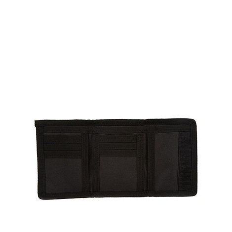 Thomas Nash - Black nylon trifold wallet