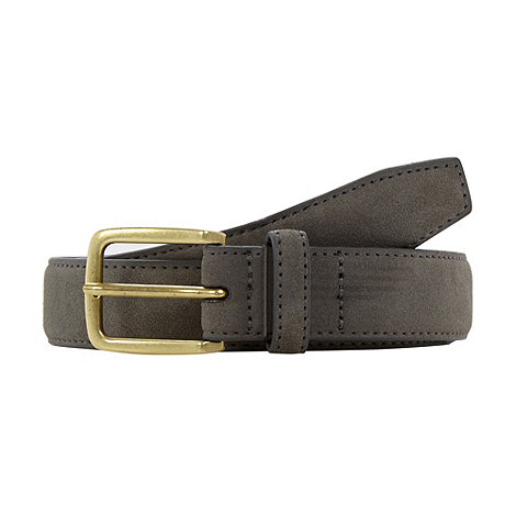 Red Herring - Grey bonded leather belt
