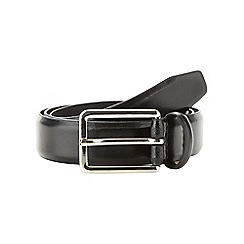 Hammond & Co. by Patrick Grant - Designer black leather formal belt