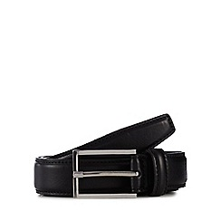J by Jasper Conran - Black leather belt