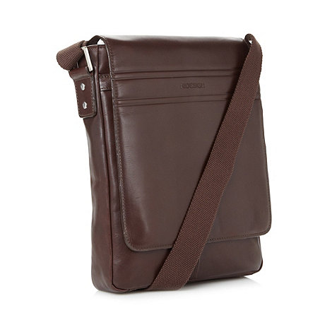 Hidesign - Brown leather day bag
