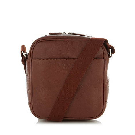 Osprey - Brown leather festival bag