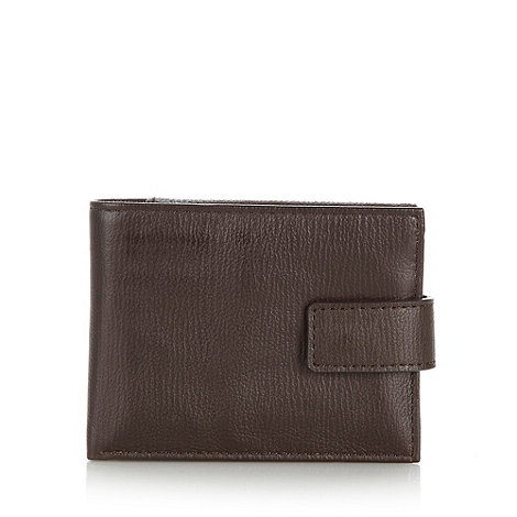Hammond & Co. by Patrick Grant - Designer brown grained leather wallet