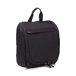 J by Jasper Conran - Black foldout wash bag