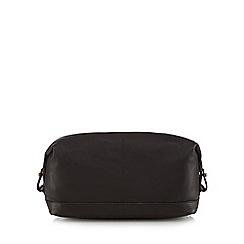 The Eighth - Dark brown leather 'Nathan' washbag