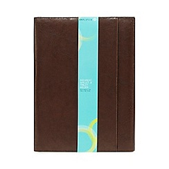 Debenhams Sports - Brown document wallet and tablet holder