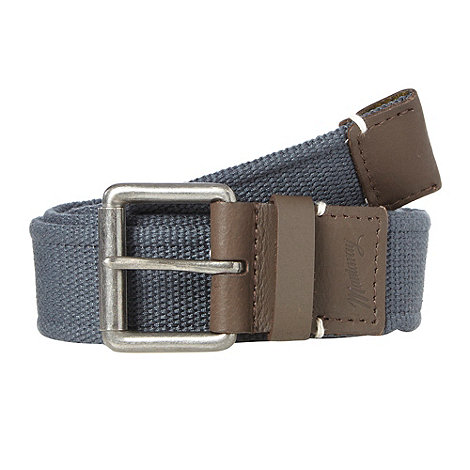 Mantaray - Navy webbed belt