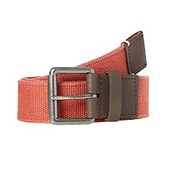Mantaray - Orange webbed belt