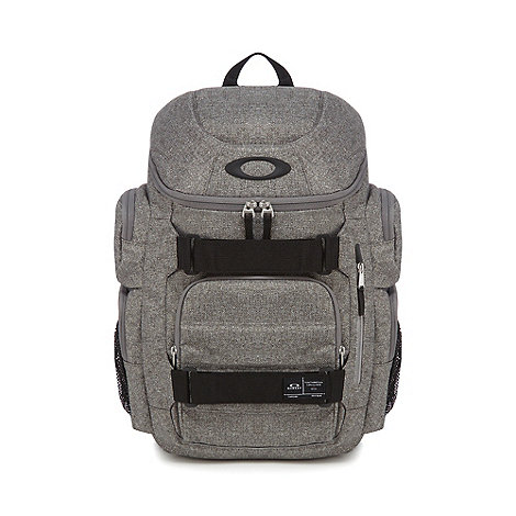 Weird Fish - Grey waxed canvas rucksack