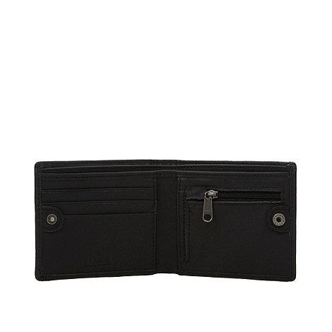 Animal - Brown embossed multi logo wallet