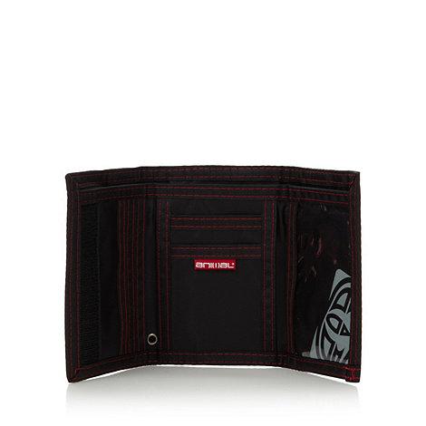 Animal - Black logo canvas wallet
